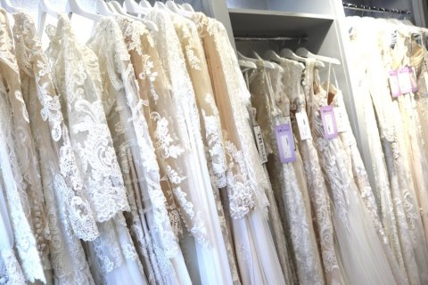 TDR Bridal has over 400 different styles in store - TDR Bridal Birmingham