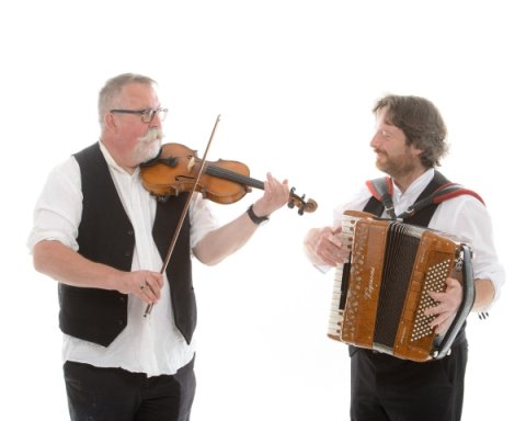 Iron Broo accordion & fiddle duo - Iron Broo Ceilidh Band