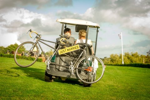 Golf Buggy fun - Dave Hayward Digital Photography