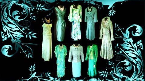 Wedding Outfits in Turquoise