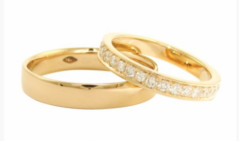 Gold Wedding and engagement rings - Blair and Sheridan Bespoke Diamond Jewellers
