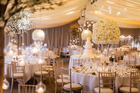 Old Hollywood Glamour wedding reception - Fabulous Together