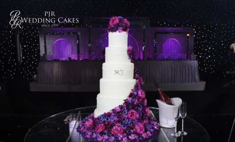 Floral Showstopper Wedding Cakes - PJR Wedding Cakes