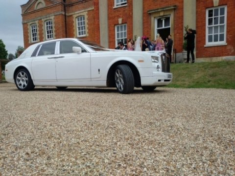 Luxury Rolls Royce Wedding Car - Platinum Cars