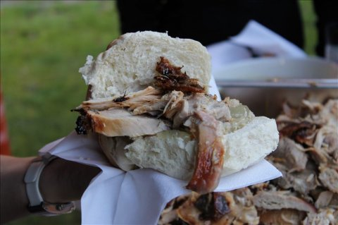 Pork Rolls with Apple Sauce & Suffing - Else Event Catering