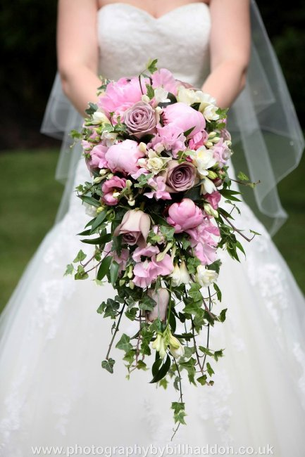 Dusky pinks Shower Bouquet