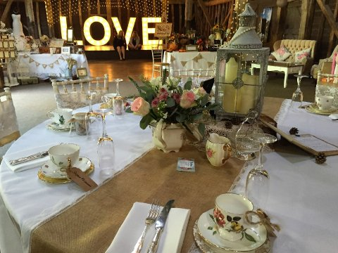 Table decor and centre pieces