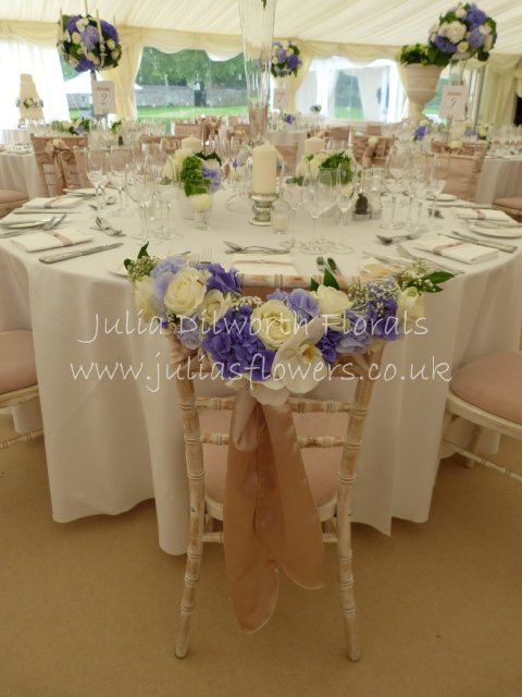 Chair Sashes for Bride & Groom Chairs
