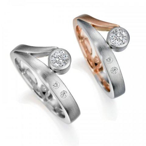 Contemporary Engagement Rings - Aurum designer-jewellers