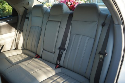 Grey Leather Interior - Price Wedding Cars