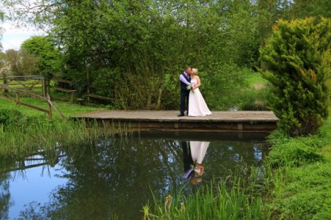 reflexion wedding photo near Newbury - Laszlo Photography