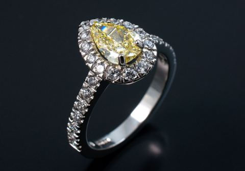 Engagement Ring - Blair and Sheridan Bespoke Diamond Jewellers