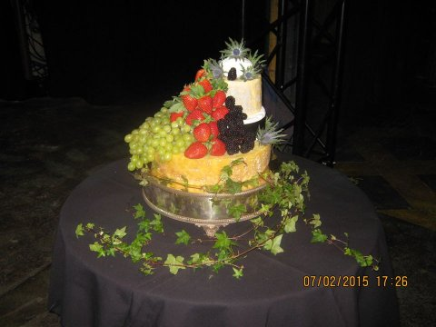 Wedding Catering and Venue Equipment Hire - Cheese Wedding Cakes - Scotland-Image 21733