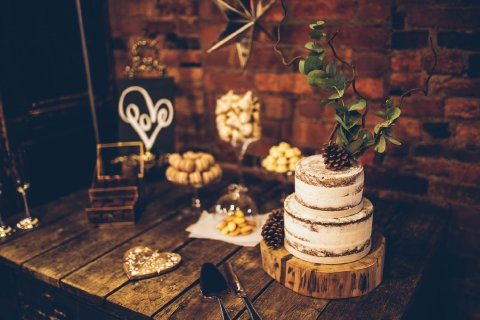 Table of sweet treats Photo: DSPhotography - The Confetti Cakery