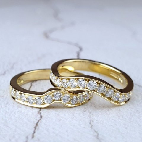 Fitted Wedding Rings - Aurum designer-jewellers