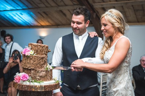 Couple cutting the cake - Fabulous Together