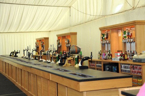 A bar for the larger events! - Prestige Bars and Catering Ltd
