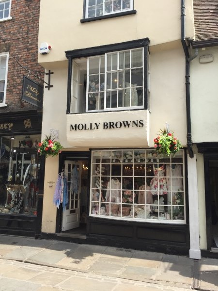 Molly Browns, Stonegate Boutique, York