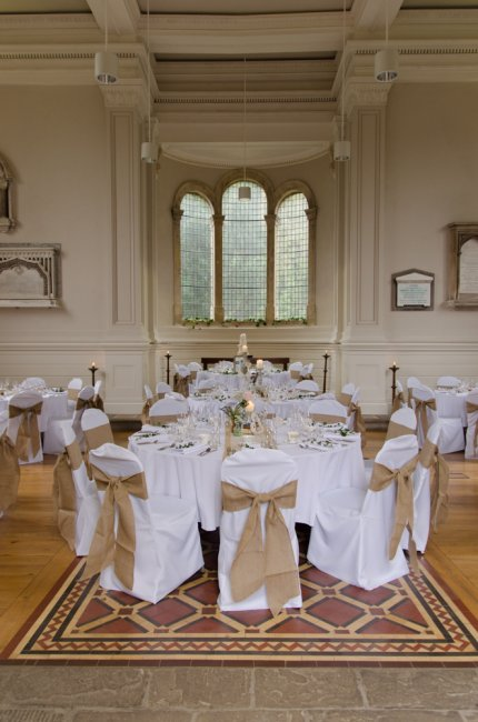 The Anglican Chapel, Wedding Breakfast