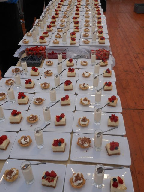 Our Desserts - Thistle Catering Services