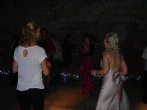 Bride's on the Dance Floor - Triangle Mobile Discos
