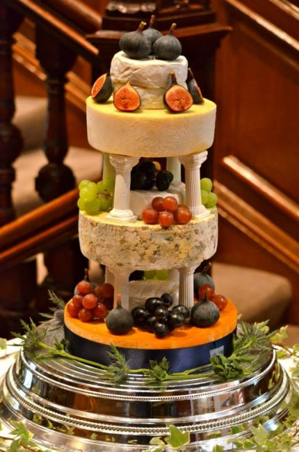 Wedding Catering and Venue Equipment Hire - Cheese Wedding Cakes - Scotland-Image 21734