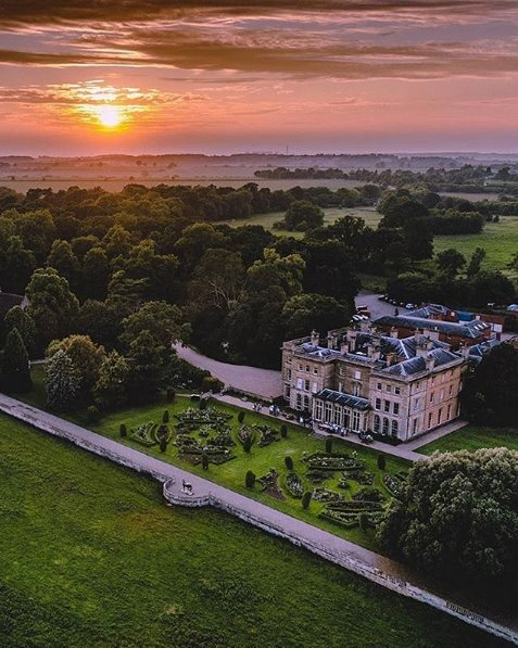 Sunset - Prestwold Hall