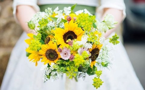 sunflower bouquet - The Flower Farm