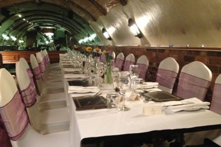 Greyhound Lutterworth Small Wedding Reception in The Vaults - The Greyhound Coaching Inn and Hotel