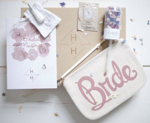 Hanson & Hopewell Engaged Bride-to-be gift box