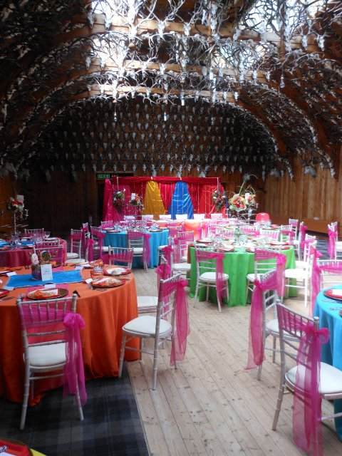 Wedding at Mar Lodge - Thistle Catering Services
