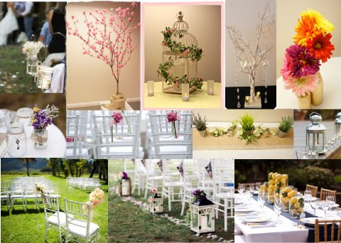 Spring Wedding Board - The Event Hire Company