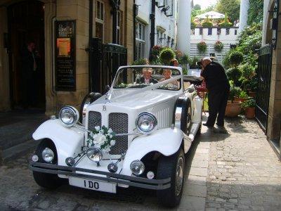Cheshire & Lancashire Wedding cars