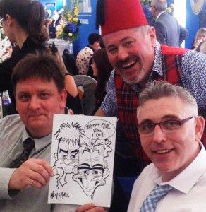 Neilsart Wedding Caricatures
