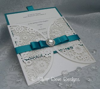 Silver Dove Wedding Stationery