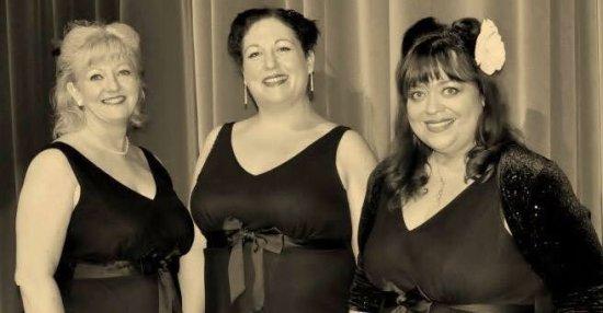 The Sasparillas vintage trio
