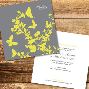Love Tree Wedding Stationery