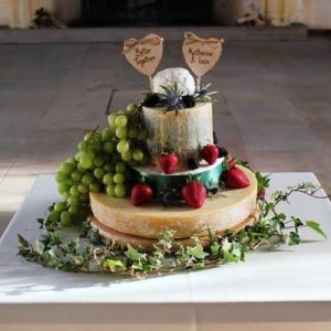 Cheese Wedding Cakes - Scotland