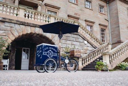 Cafe Bon Bon Ice Cream & Pimm's Tricycles