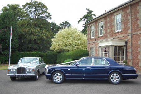 Bentley Chauffeur Drive Wedding Cars In Weston Under Penyard - Bentley chauffeur