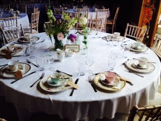 Pretty vintage crockery and accessories hire wedding table pretty vintage crockery and accessories hire junglespirit