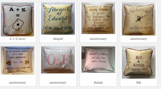 Wedding Present Cushions At Fun Cushions In UK