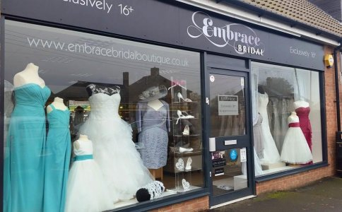 Embrace Bridal and Occasion Wear Ltd - Exclusively 16+