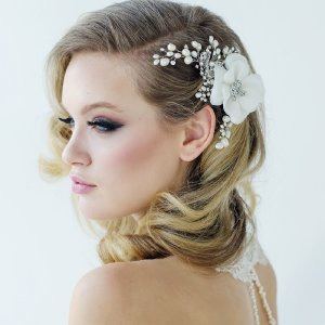 Mara Wedding Hair Flower - £75