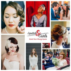 Lipstick and Curls