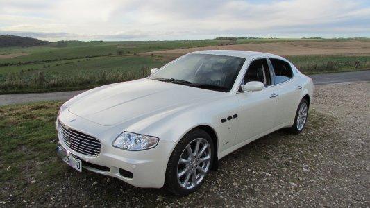 absoluteanywhere White Maserati QP