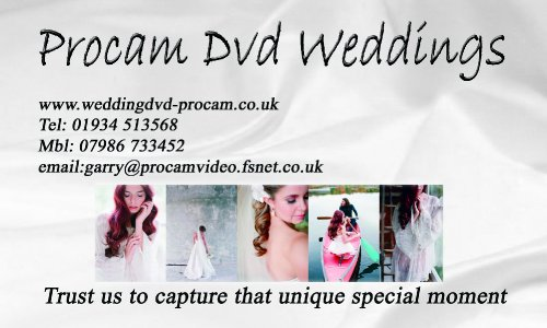 Procam Dvd Weddings