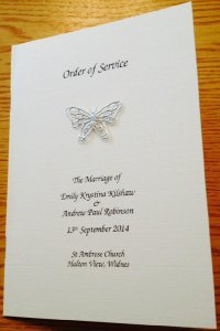 CAS Wedding Stationery