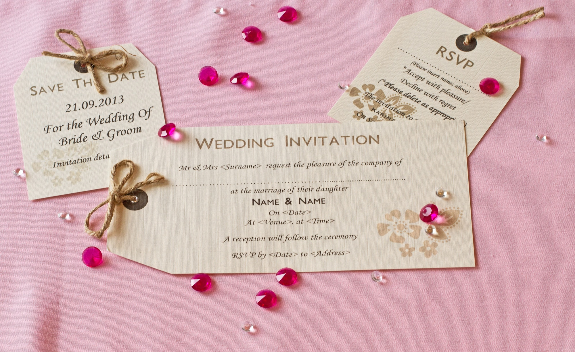 Coochicoo Cards, Wedding Stationery In Darlington, County Durham.