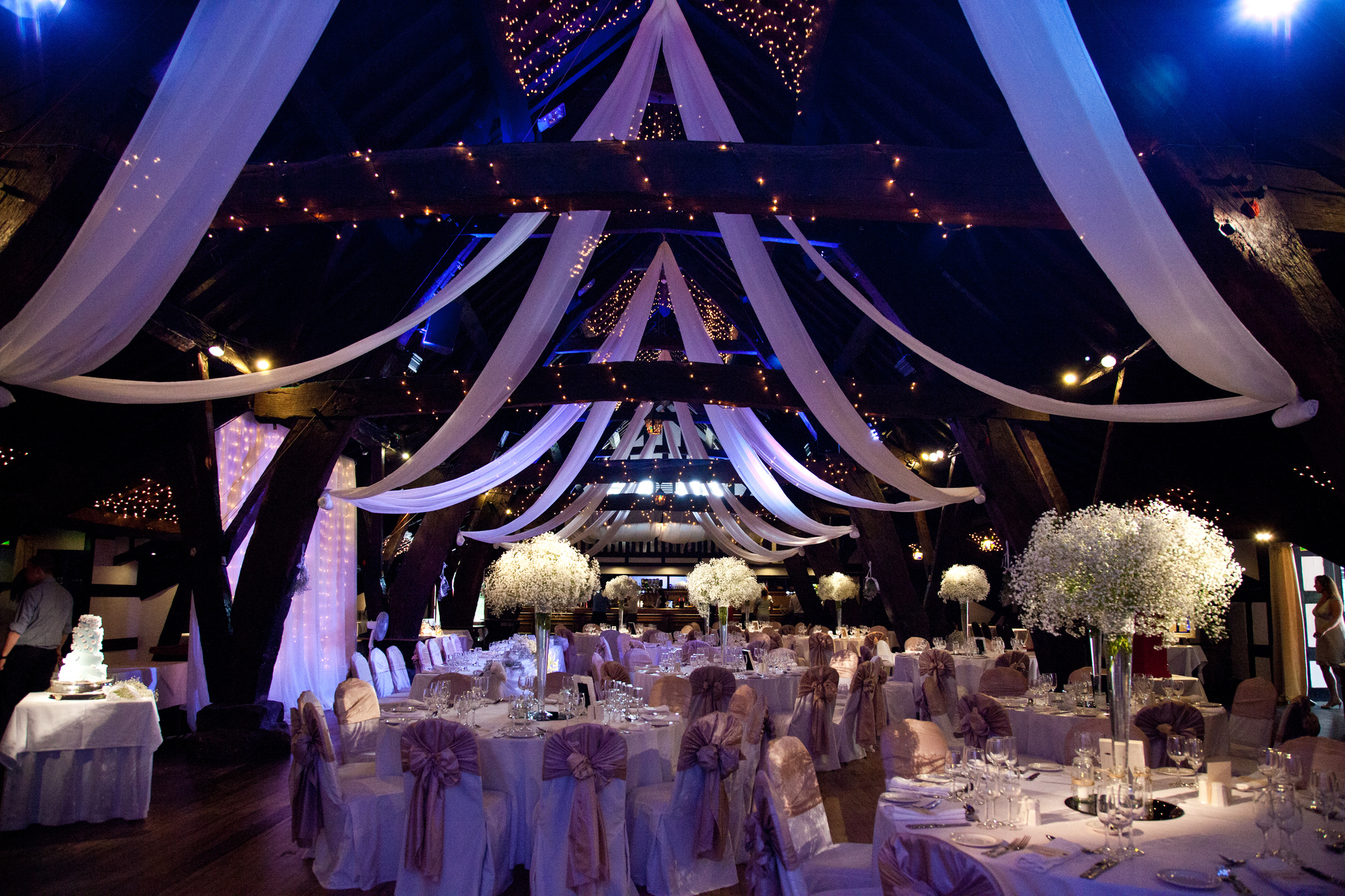 Rivington Hall Barn Wedding Reception Venues In Rivington Lancashire